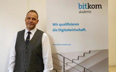 Ein Mann mit Plan: Hermann Oehrle setzt dabei auf die Bitkom Akademie